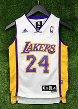 Authentic Adidas Los Angeles Lakers Kobe Bryant Swingman Jersey Youth Small Sewn