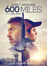 600 Miles (DVD, 2016, Widescreen) Tim Roth - Usually ships within 12 hours!!!