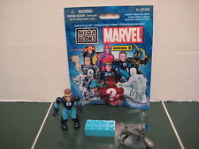 Mega Bloks Mr. Fantastic Figure with Stand Series 3 SEALED