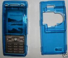 Clear Blue Sony K800 Express on cover,fascia NEW UK seller