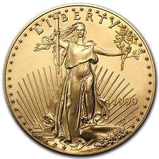 1999 1 oz Gold American Eagle Coin