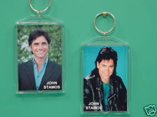 JOHN STAMOS - with 2 Photos - Designer Collectible GIFT Keychain 02