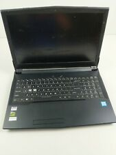 "SAGER N850HP6 15.6"" Gaming Laptop *FOR PARTS & REPAIR* i7-7700HQ GTX 1060 6GB"
