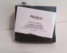 Aqueon QuietFlow LED PRO Aquarium Power Filters 10 ,NO BOX