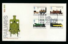 First Day of Issue Trains, Railroads Used Great Britain First Day Covers (1971-Now)