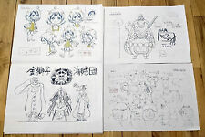 One Piece Strong World settei sheets