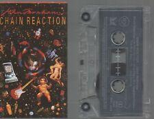 JOHN FARNHAM CASSETTE Aussie Rock  CHAIN REACTION 1990 Burn For You