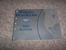 2005 Ford Ranger Electrical Wiring Diagram Manual XL XLT STX Edge XLS FX4 V6