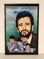 THE BEATLES #4 RINGO STARR Personality Comics 1992 RARE Illustrated Biography!