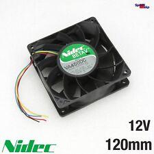 NIDEC BETA V VA450DC V34809 PROFI COOLER LÜFTER 120x120x38MM 120MM 12V 220CFM 3A