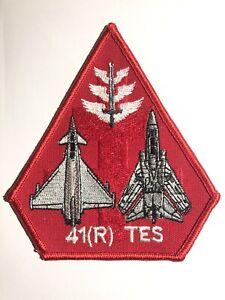 RAF 41 (R) TES Tornado Typhoon Patch Coningsby