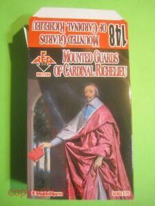 NEU 1:72 RedBox #148 30jähriger Krieg Kardinal Richelieu berittene Garde Figuren