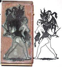 Fetish rubber stamp Carmen and the Devil