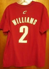 CLEVELAND CAVALIERS lrg basketball T shirt Mo Williams #2 beat-up tee CAVS