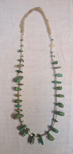 """Royston Turquoise Necklace 27"""" Long with original wrap"""