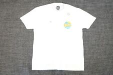 C&C CALIFORNIA WHITE DOUBLE DAZE XL VINTAGE RETRO SOFT TSHIRT DEFECT