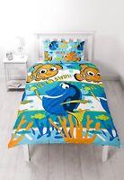 Disney Finding Nemo Dory Single Bed Duvet Cover Fish Ocean Themed Bedroom Idea