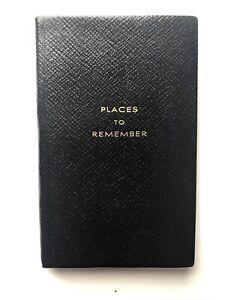 Smythson Of Bond St. Address Book Leather Bound New.