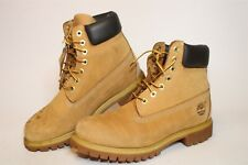 Timberland Mens 8.5 M Six Inch Premium Leather Work Ankle Boots 10061