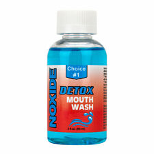 Saliva Cleanse Detox Mouthwash Noxide Pass Test Clean Cleansing Mouth Wash 60ml