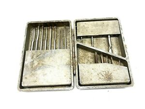 Heavy Duty Cast Aluminum Drill Index Box w/ Selection of Reamers & Taps