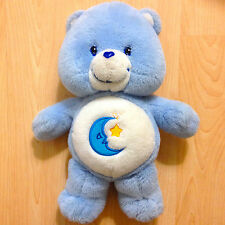 "Care Bears 13"" Bedtime Bear Plush Doll 2002 Clean Soft Good Condition!"