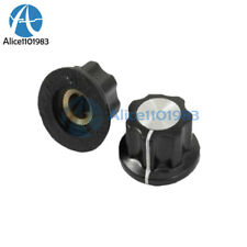20PCS 16mm Top Rotary Control Turning Knob for Hole 6mm Dia. Shaft Potentiometer