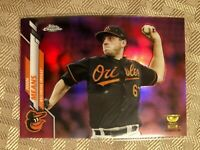 2020 Topps Chrome Pink Refractor John Means Rookie Gold Cup Baltimore Orioles SP
