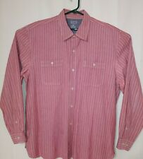 Austin Clothing Co. Mens Long Sleeve Button Front Striped Shirt Size 2XL