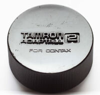 Genuine Tamron Adaptall 2 Rear Lens Cap For Contax Yashica C/Y CY Mount Lenses