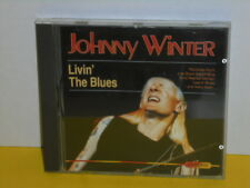 CD - JOHNNY WINTER - LIVIN THE BLUES