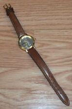 Genuine Walt Disney Company Time Works Mickey Mouse Silver & Gold Tone Watch