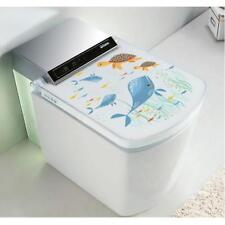 Toilet Stickers Funny Bathroom Vinyl Quote Home Art Mural Removable Decor WA
