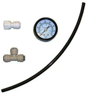 "RO Pressure Gauge Kit - 1/4"" push fittings (PGK-4) - Spectrapure"