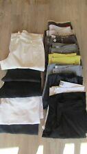 Lot n°4: Pantalons / Pantacourts femme été Taille 38/40 ,T2 divers marques