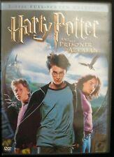 HARRY POTTER AND THE PRISONER OF AZKABAN 2 DISC FULLL SCREEN EDITION DVDS