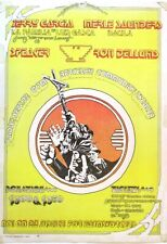 Jerry Garcia, Merl Saunders Farmworkers Benefit Org 1972 Concert Poster