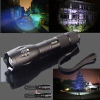 5000Lumens Zoomable Bright Cree T6 XML LED Mini Torch Light 18650/AAA Flashlight