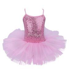 Costume Birthday Ballet Tutu Dress Up Girls Leotard Ballerina Skate Fairy Swan