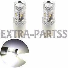 2X White 7440 30W Cree Backup/Reverse LED Light bulb Lamp W21W 7441 US 12V 7441
