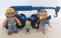 Bob the Builder Character Figures & Toy Bundle-Bob-Lofty-Spud-Wendy