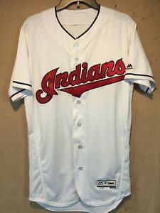 Cleveland Indians MLB Majestic Authentic Flex Base Jersey in size 40 NWOT