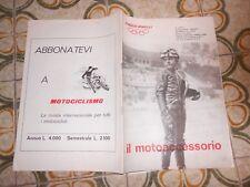 RIVISTA  il motoaccessorio  anno  1  nr  1 1971 ducati  gt  750  laverda  750 sf