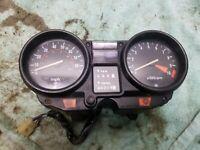 1982 Honda Nighthawk CB 650 CB650 SC Gauges Gauge Cluster Speedometer Tachometer