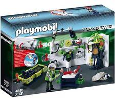 NEW Playmobil 4880 Robo Gang Lab Top Agents 4880