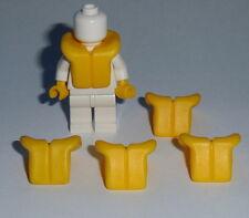 ACCESSORY LOT OF 5 New Lego Minifigure Life Jackets Yellow Sea,Boat, Pirate