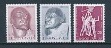 Yugoslavia 1021-3 MNH, Basketball, Lenin, 1970