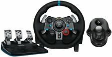 Gaming Racing Wheel Plus 6 Speed Shifter Pedals Driving Simulator Game PS3 PS4