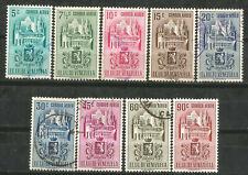 VENEZUELA Scott# C365-373 (0) usada 1951