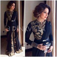 Indian Stylish Designer Bollywood Party Blue Anarkali Suit Salwar Kameez Dress